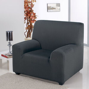 Easystretch Armchair Cover Charcoal
