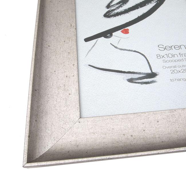 Serena Aged Silver Photo Frame