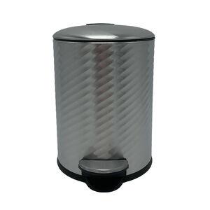 Spiral Embossed Bin 3L - Stainless Steel