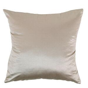 Braided Faux Silk Gold Cushion