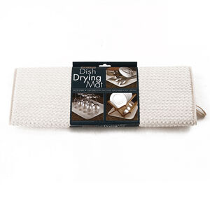 Dish Drying Mat Cream