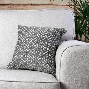 Mairead Diamond Natural Cushion 45cm x 45cm