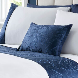 Olivia Marie Cushion 30x50cm - Navy