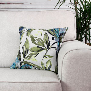 Aoife Floral Lime Cushion 45cm x 45cm