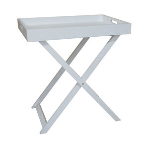 Butlers Large Table Tray - White