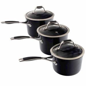 Cucino Onyx 3 Piece Cookware Set