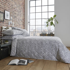 Brian Bedspread 200x220cm - Grey