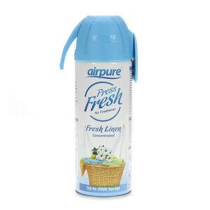 Airpure Press Fresh Linen Air Freshener