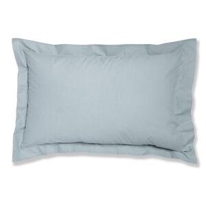 Luxury Percale Duck Egg Oxford Pillowcase Pair