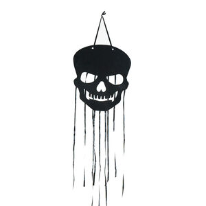 Halloween Hanging Skull Cut-Outs