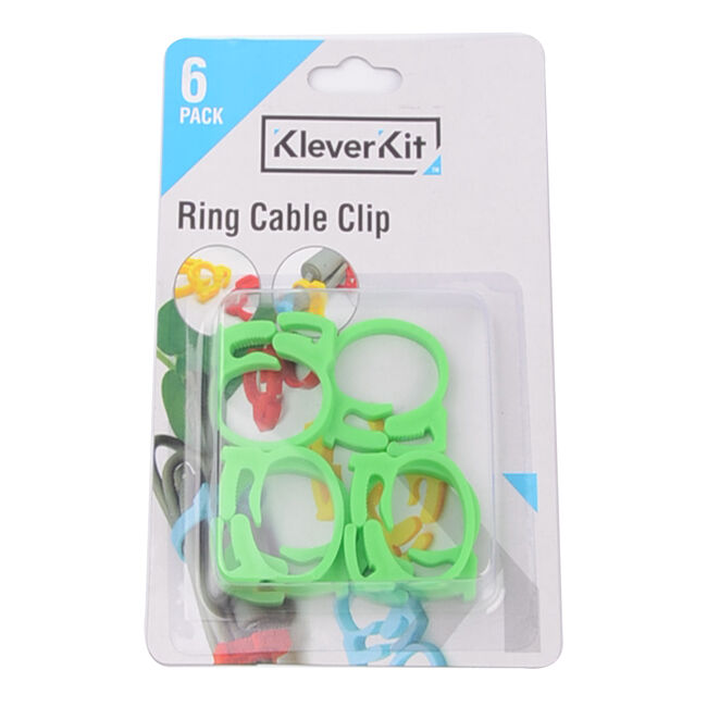 Kleverkit Ring Cable Clip 6 Pack