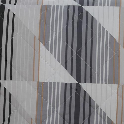 Logan Bedspread 200x220cm - Grey/Natural