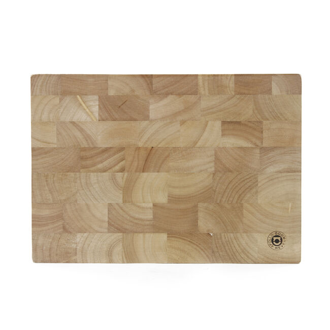 Rubberwood Engrained Block