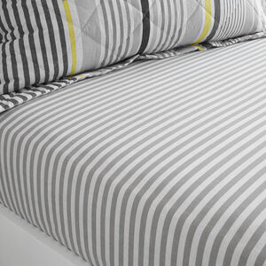 MCMARTIN STRIPE Single Fitted Sheet
