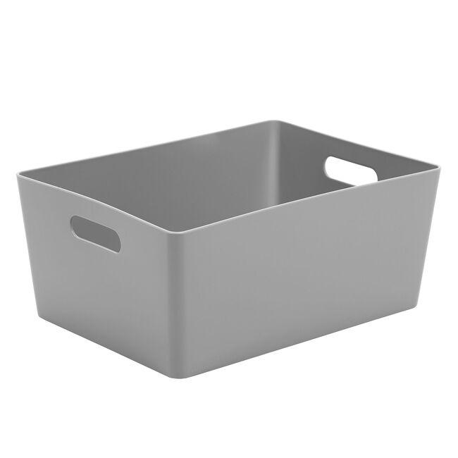 Studio 5.02 Rectangular Basket Cool Grey