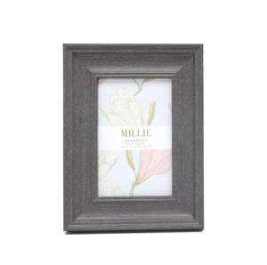 "Millie Photo frame 4x6"" - Charcoal"
