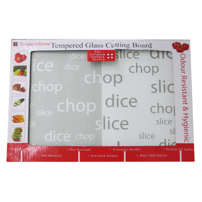 Tempered Glass Cutting Board