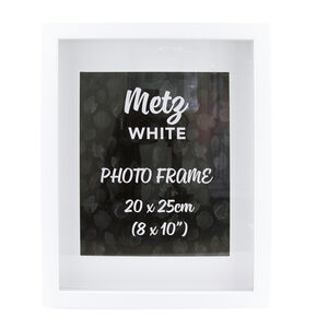 Metz White Photo Frame 8x10""