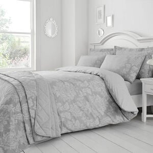 Elvira Duvet Set - Grey