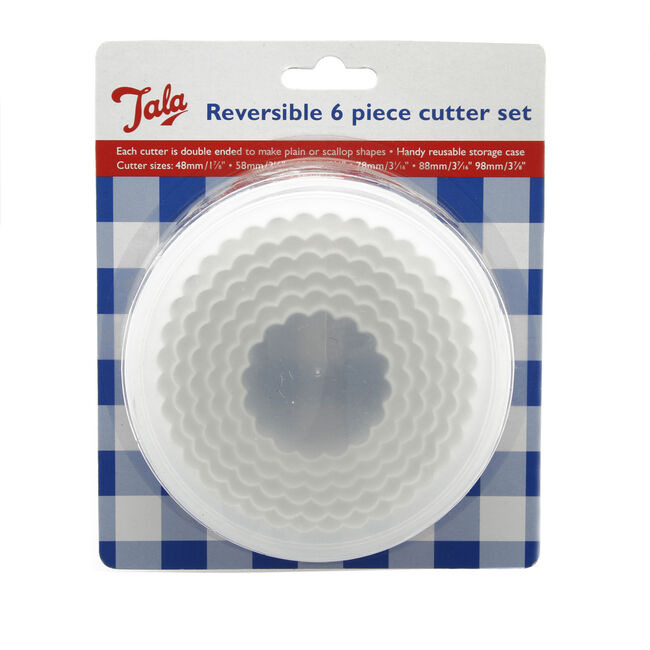 Tala Plastic Reversible Pastry Cutters