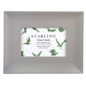 Starling Grey Frame 4x6