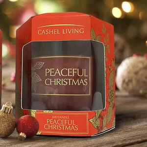 Peaceful Christmas Jar Candle
