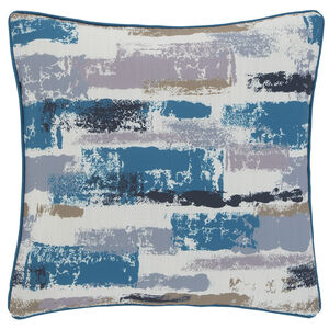 Painterly Teal 45x45 Cushion
