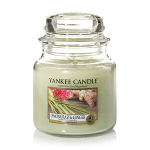 Yankee Lemongrass and Ginger Medium Jar