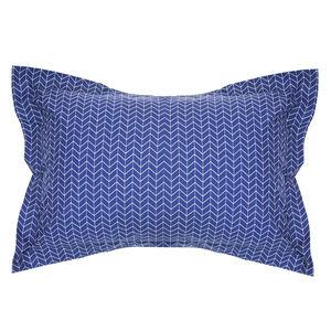 Urban Arrow Navy/Berry Oxford Pillowcase Pair