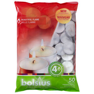 Bolsius Tealights 50 Pack
