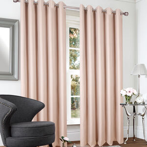 BLACKOUT & THERMAL BOXES NATURAL  66x90 Curtain