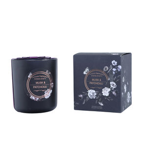 Ambianti Musk and Patchouli Scented Candle