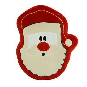 Santa Claus Cushion 38cm
