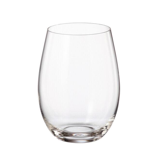 Bohemia Cristallin 6 430ml Tumbler Glasses