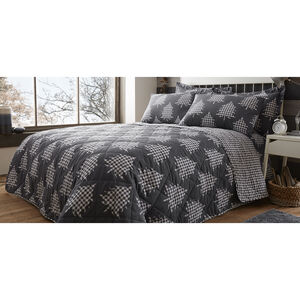 Brushed Cotton Trees Bedspread 200x220cm