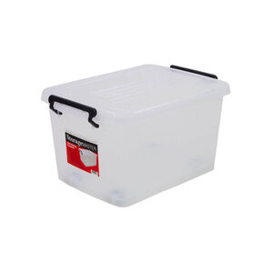 Rolling Storage Container with Lid 32L