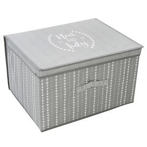 Neat & Tidy Grey Foldable Storage Chest