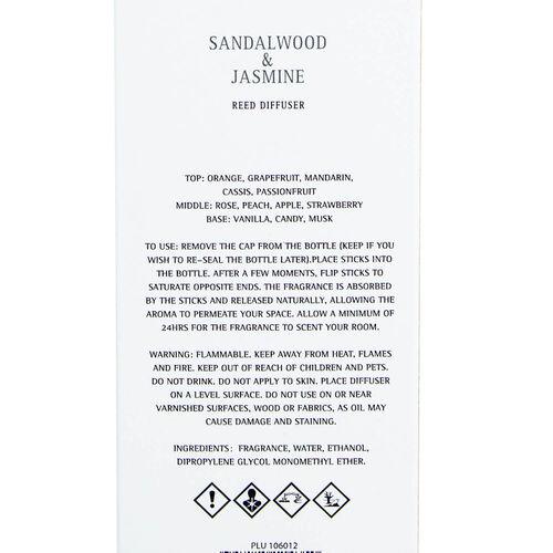 Larchmere Sandalwood & Jasmine Reed Diffuser 200ml
