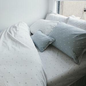 Polly Polka Grey Cushion 30cm x 50cm