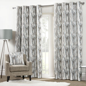 ETCH DUCK EGG 66x54 Curtain