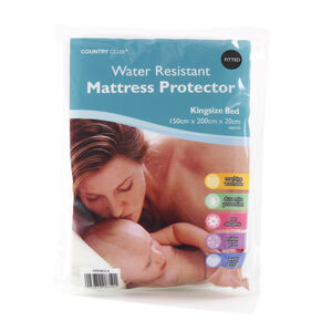 WATER RESISTANT SB Mattress Protector