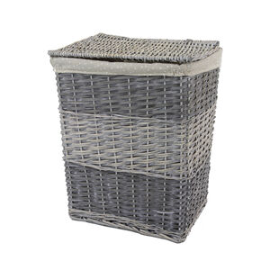 Rectangular Wicker Small Laundry Basket