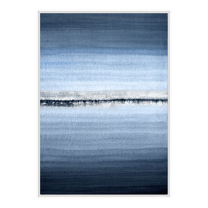 Blue Shades Print Framed Foil Finish