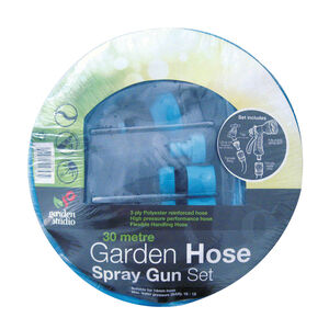 Garden Hose with Nozzle and Gun