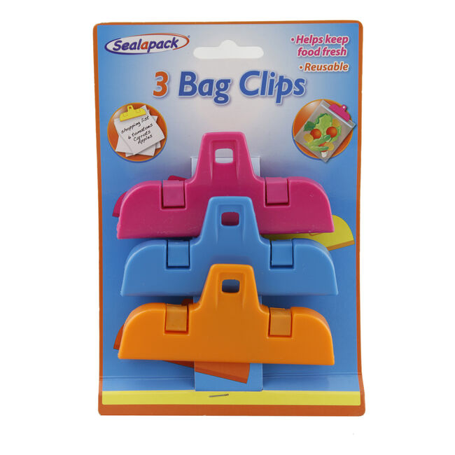 Sealapack 3 Large Bag Clips
