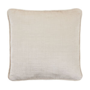Embossed Cushion 45x45cm - Natural