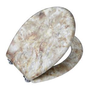 White Marble Toilet Seat