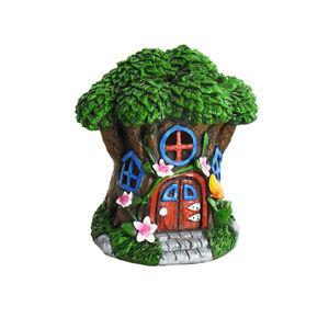 Fairy Tree House With Solar Light