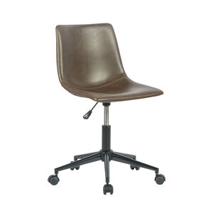 Bay Office Chair Swivel Cognac