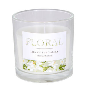 Floral Lily Of The Valley Scented Candle